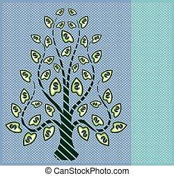 美元, 樹, 流行藝術