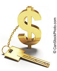 美元, 钥匙