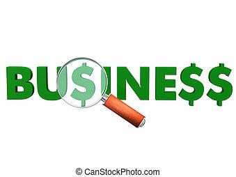美元, loupe, 商业