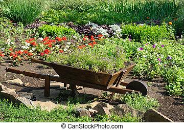 美化される, 花園