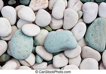 美化, 岩