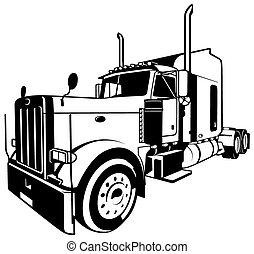 美国人, 卡车