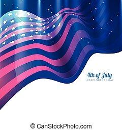 美國人, 設計, 旗
