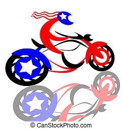 美國人, 騎自行車的人