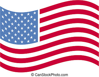 美國旗, 剪花藝術品