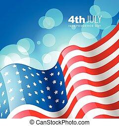 美國旗, 創造性