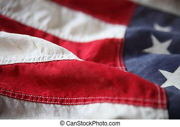 美國旗, 條紋