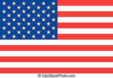 美國旗, 矢量