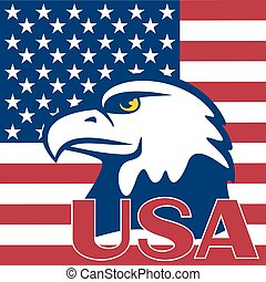 美國的旗, 以及, 鷹