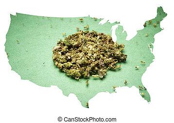 美國, 大麻
