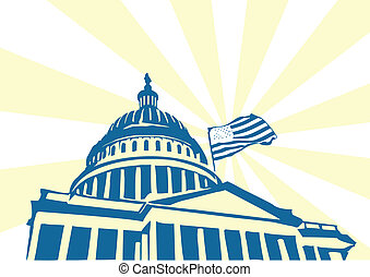 美國, 州議會大廈