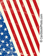 美國, grunge, 旗