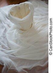 美麗, 向上, 裝飾, 婚禮, 關閉, 衣服