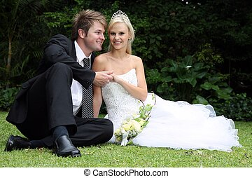 美麗, 婚禮夫婦