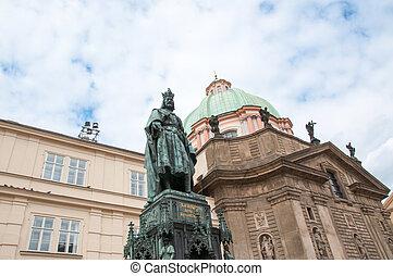 美麗, 布拉格, 雕像