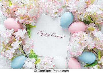 美麗, 微妙, 復活節, 框架
