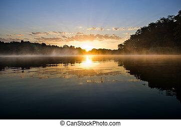 美麗, 日出