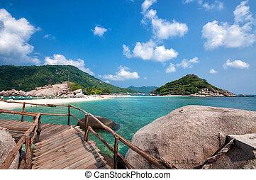 美麗, 泰國, 碼頭