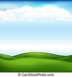 美麗, 矢量, 風景