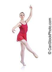 美麗, 芭蕾舞女演員, 芭蕾舞, 藝術, 工作, 執行, 元素, 藝術, 女性, 在外