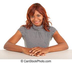 美麗, 非洲裔美國人女士