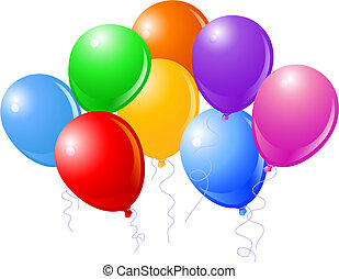 美麗, 黨, 八, 气球
