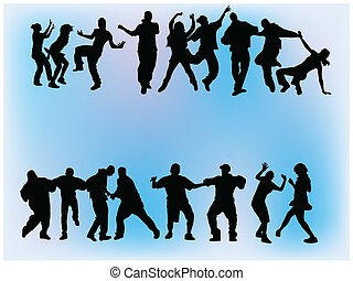 群集, ダンス