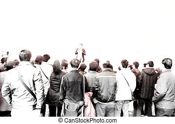 群集, 聴衆