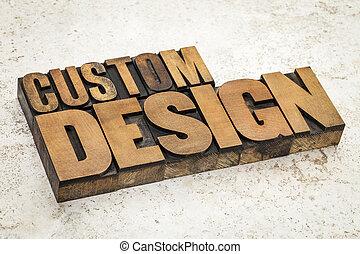 習慣設計, 在, 木頭, 類型