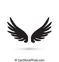 翼, 天使, アイコン