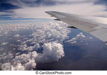 翼, 飛行機