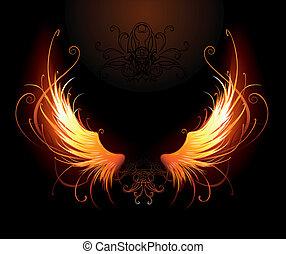 翼, fiery