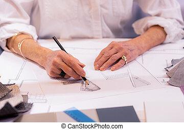 老化, 打撃, 仕事, 上司, プロジェクト, 大袈裟な表情をしなさい, 女性, 図画