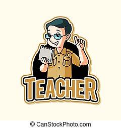 老師, 插圖, 設計