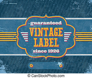 老年, 葡萄酒, labelon, 藍色, 紙板