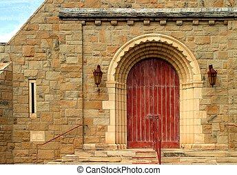 老教堂, 門