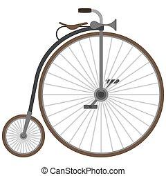 老的自行车