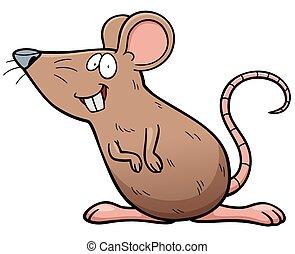 老鼠, 卡通