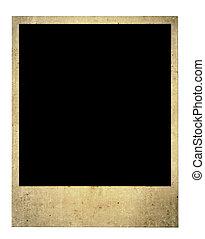 老, 空白, 照片框架
