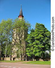 老, 芬蘭語, 教堂