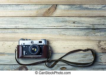 老, 葡萄酒, 電影, 照片照像機