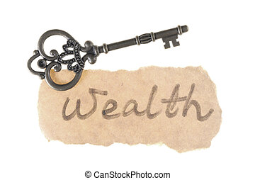 老, 词汇, 财富, 钥匙