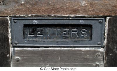 老, 郵箱, 輕拍