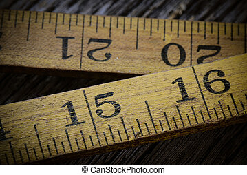 老, 鄉村, 木頭, 磁帶, 背景, 措施