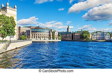 老 鎮, 在, 斯德哥爾摩, 瑞典