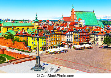 老 鎮, 在, 華沙, 波蘭