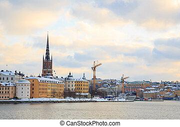 老 鎮, 斯德哥爾摩, 城市, 瑞典