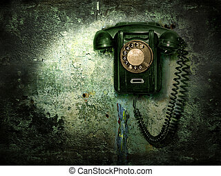 老, 電話