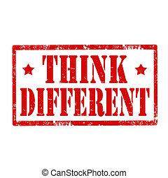 考えなさい, different-stamp