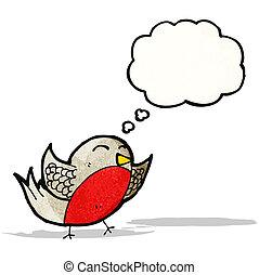考え泡, 漫画, ロビン